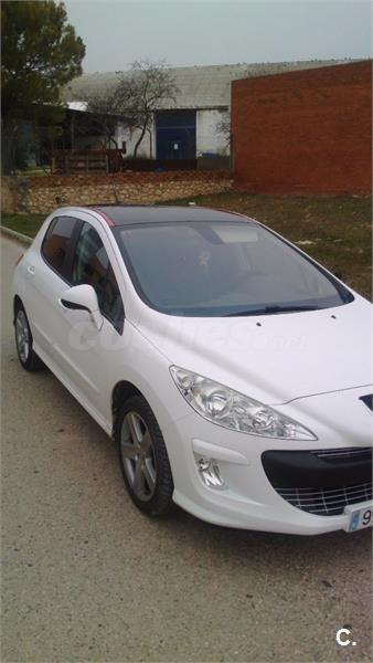 peugeot 308 premium 1 6 vti 120 gasolina blanco del 2008 con 62000km en cuenca 32658567. Black Bedroom Furniture Sets. Home Design Ideas