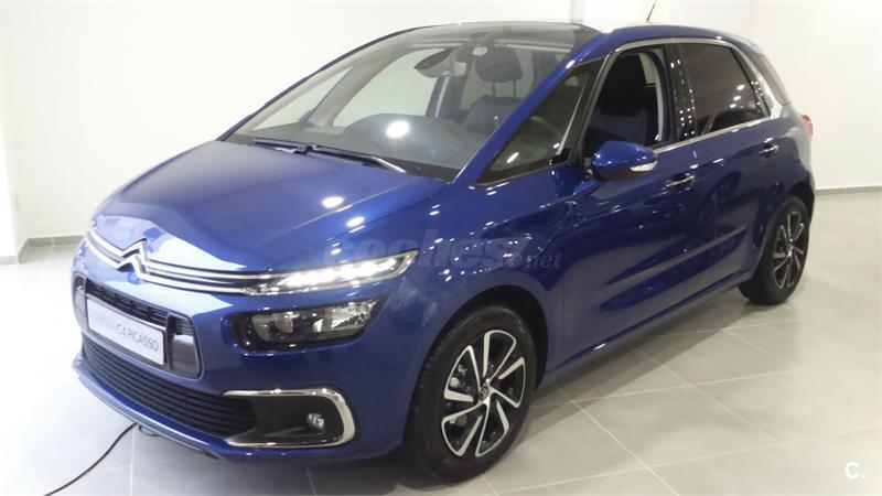 citroen c4 picasso monovolumen bluehdi 88kw 120cv eat6 feel diesel de gerencia de color azul. Black Bedroom Furniture Sets. Home Design Ideas