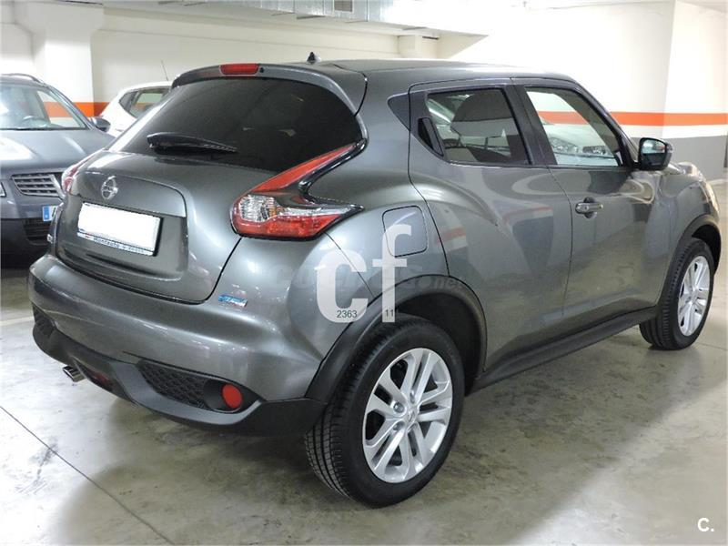 nissan juke 4x4 1 5 dci nconnecta 4x2 diesel de color gris. Black Bedroom Furniture Sets. Home Design Ideas