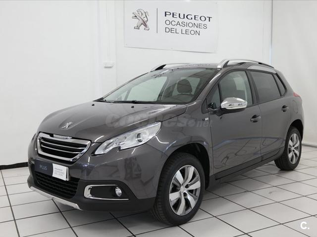 peugeot 2008 4x4 style 1 6 bluehdi 100 diesel de color gris plata del a o 2016 con 11507km en. Black Bedroom Furniture Sets. Home Design Ideas