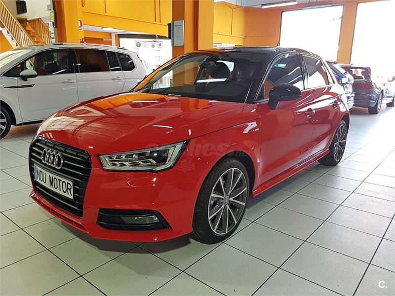 audi a1 sportback 1 0 tfsi adrenalin gasolina rojo del 2017 con 20000km en barcelona 32684255. Black Bedroom Furniture Sets. Home Design Ideas