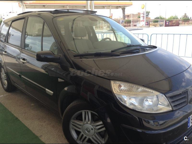 renault grand scenic luxe privilege eu4 diesel negro antracita del 2005 con 160000km en. Black Bedroom Furniture Sets. Home Design Ideas