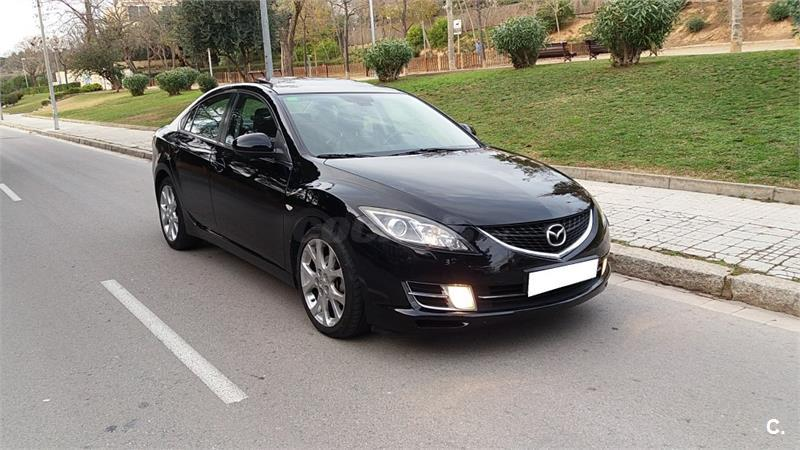 mazda mazda6 2 0 crtd luxurynavisr diesel negro del 2008 con 240000km en barcelona 32694530. Black Bedroom Furniture Sets. Home Design Ideas