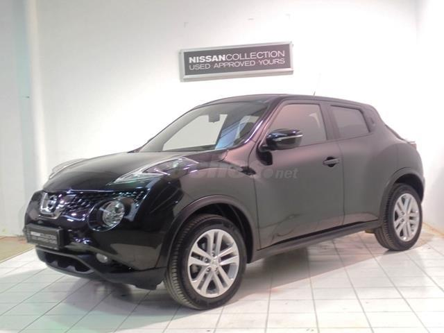nissan juke 4x4 1 5 dci nconnecta diesel de color negro. Black Bedroom Furniture Sets. Home Design Ideas