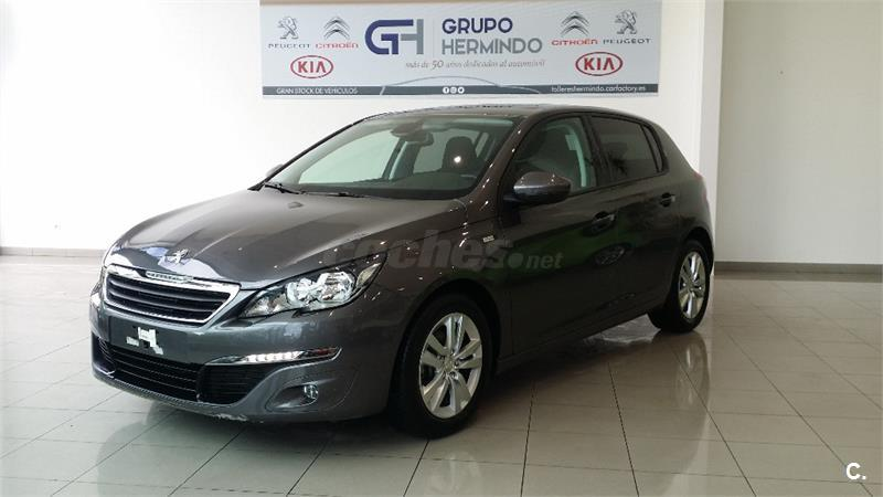 peugeot 308 5p style 1 6 bluehdi 100 diesel gris plata gris platinum del 2016 con 3820km en. Black Bedroom Furniture Sets. Home Design Ideas