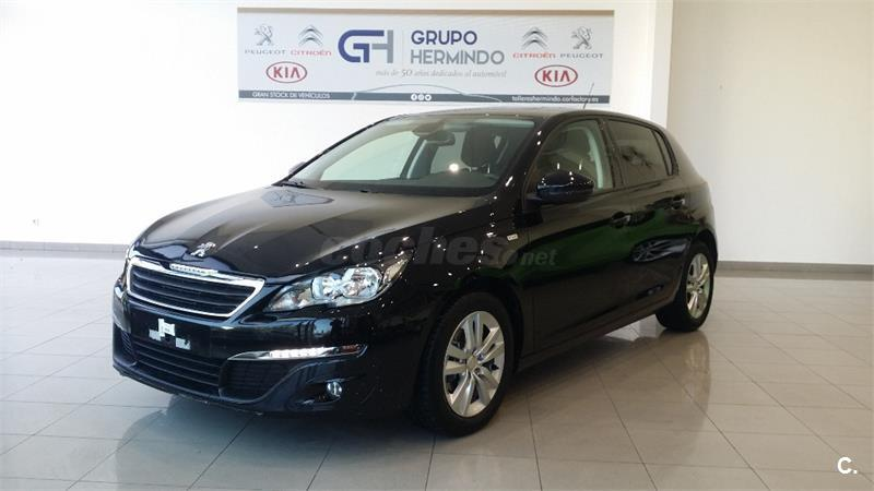 peugeot 308 5p style 1 6 bluehdi 100 diesel negro del 2016 con 32000km en pontevedra 32698720. Black Bedroom Furniture Sets. Home Design Ideas