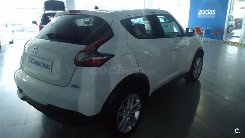 nissan juke 4x4 1 5 dci acenta 4x2 diesel de color blanco del a o 2016 con 12500km en valencia. Black Bedroom Furniture Sets. Home Design Ideas