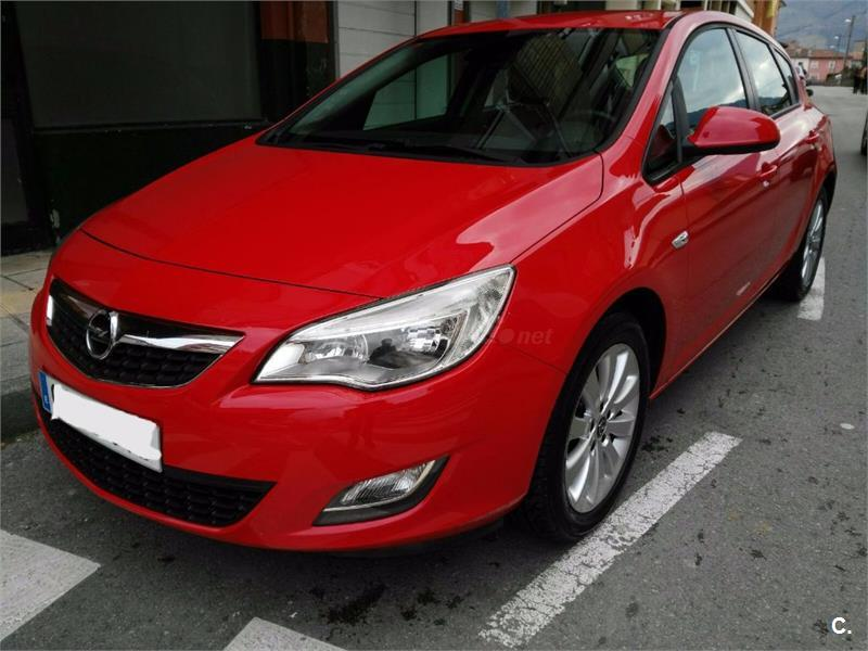 opel astra 1 7 cdti 110 cv enjoy diesel rojo del 2010 con 74000km en cantabria 32717052. Black Bedroom Furniture Sets. Home Design Ideas