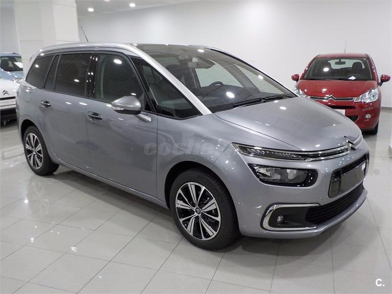 citroen grand c4 picasso puretech 96kw 130cv ss 6v feel gasolina gris plata gris acier del. Black Bedroom Furniture Sets. Home Design Ideas