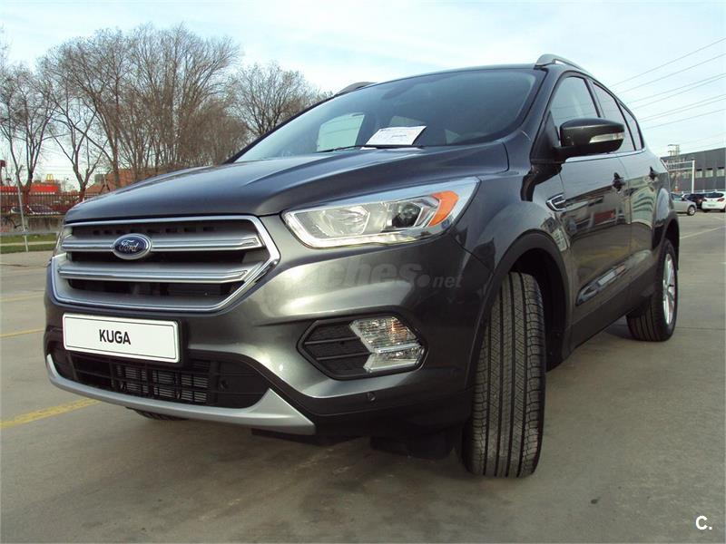 ford kuga 4x4 1 5 ecoboost 110kw ass 4x2 titanium gasolina de nuevo de color gris plata gris. Black Bedroom Furniture Sets. Home Design Ideas