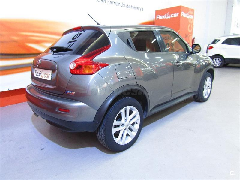 nissan juke 4x4 1 5 dci tekna sport 4x2 diesel de color gris plata del a o 2012 con 69990km en. Black Bedroom Furniture Sets. Home Design Ideas