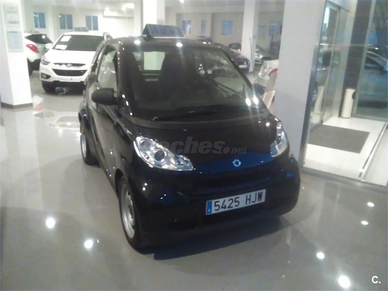 Smart fortwo coupe 45 mhd pure gasolina negro del 2012 con for Smart segunda mano sevilla