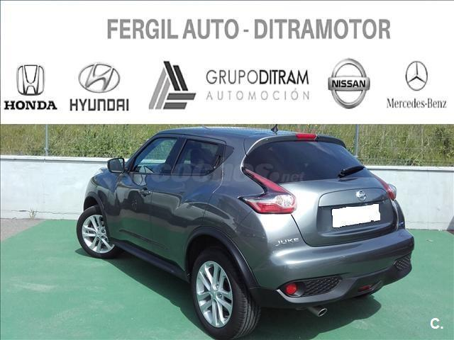 nissan juke 4x4 1 5 dci acenta 4x2 diesel de color gris plata gris del a o 2015 con 35900km. Black Bedroom Furniture Sets. Home Design Ideas