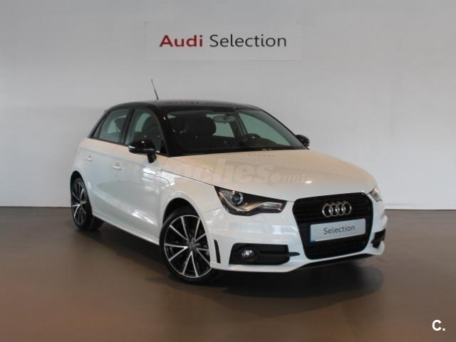 audi a1 sportback 1 2 tfsi 86cv adrenalin gasolina blanco del 2013 con 76527km en pontevedra. Black Bedroom Furniture Sets. Home Design Ideas