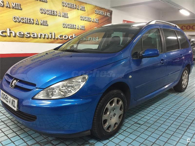 peugeot 307 sw pack 2 0 hdi 90 diesel azul del 2002 con 215000km en madrid 32742652. Black Bedroom Furniture Sets. Home Design Ideas