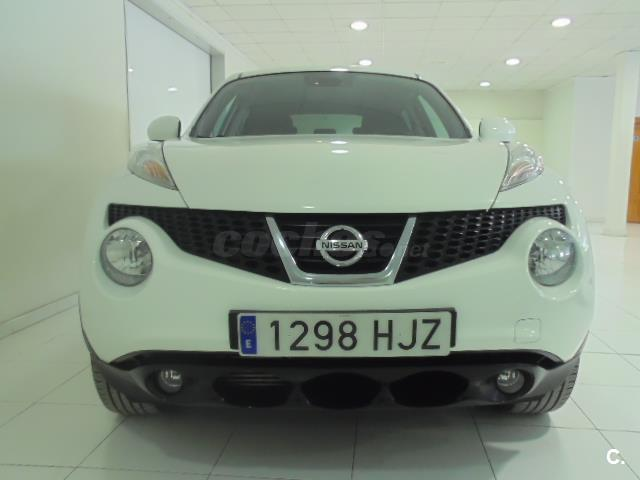 nissan juke 4x4 1 5 dci tekna sport 4x2 diesel de color blanco del a o 2012 con 74827km en. Black Bedroom Furniture Sets. Home Design Ideas