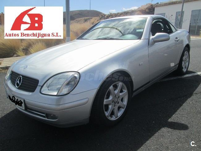mercedes benz clase slk slk 200 gasolina gris plata del 1999 con 122012km en sta c tenerife. Black Bedroom Furniture Sets. Home Design Ideas