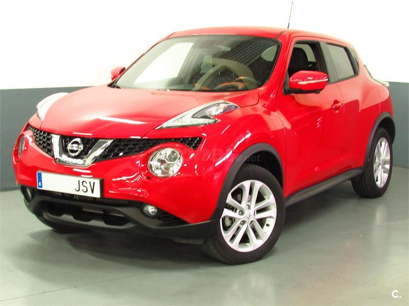 nissan juke 4x4 1 5 dci nconnecta diesel de color rojo s l. Black Bedroom Furniture Sets. Home Design Ideas