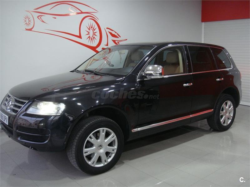 volkswagen touareg 4x4 3 0 v6 tdi tiptronic diesel de color negro del a o 2005 con 246500km en. Black Bedroom Furniture Sets. Home Design Ideas