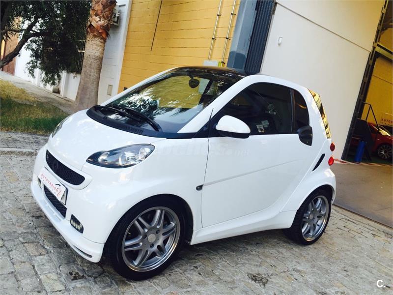 Smart fortwo coupe brabus gasolina blanco del 2008 con for Smart segunda mano sevilla