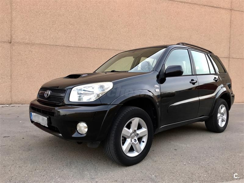 toyota rav4 4x4 2 0 d4d sol 4x4 diesel de color negro del a o 2006 con 130000km en zaragoza 32772696. Black Bedroom Furniture Sets. Home Design Ideas