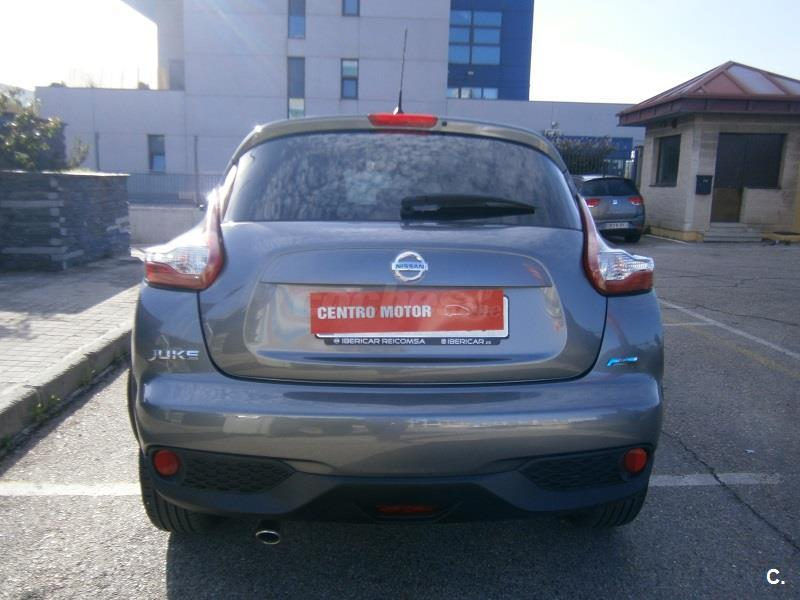 nissan juke 4x4 1 5 dci acenta 4x2 diesel de color gris plata del a o 2015 con 5261km en. Black Bedroom Furniture Sets. Home Design Ideas