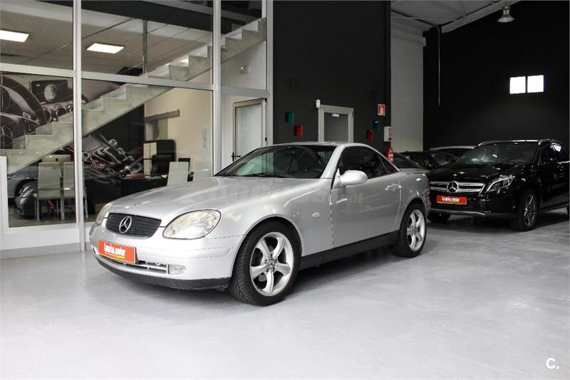 mercedes benz clase slk slk 200 gasolina gris plata del 1999 con 148665km en las palmas 32774476. Black Bedroom Furniture Sets. Home Design Ideas