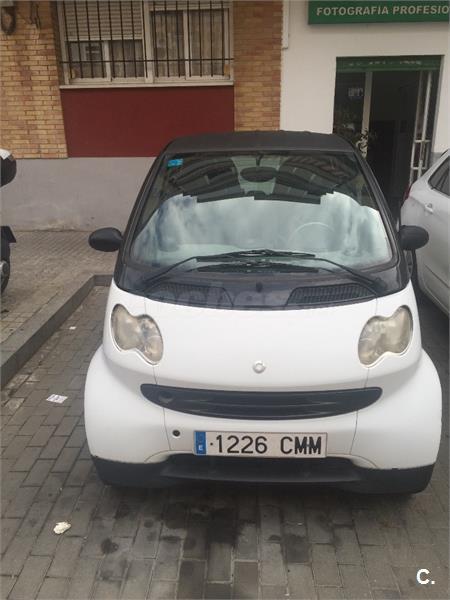 Smart city coup smart pure cdi diesel blanco del 2003 con for Smart segunda mano sevilla