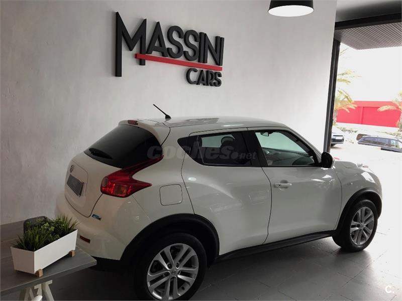 nissan juke 4x4 1 5 dci tekna sport 4x2 diesel de color blanco del a o 2013 con 52500km en. Black Bedroom Furniture Sets. Home Design Ideas