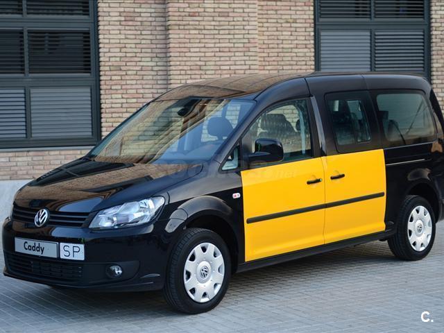 volkswagen caddy maxi trendline 2 0 tdi scr bmt 102cv diesel negro y amarillo del 2016 con 1km. Black Bedroom Furniture Sets. Home Design Ideas