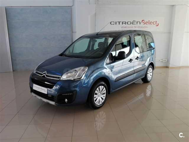 citroen berlingo multispace feel bluehdi 100 diesel azul. Black Bedroom Furniture Sets. Home Design Ideas