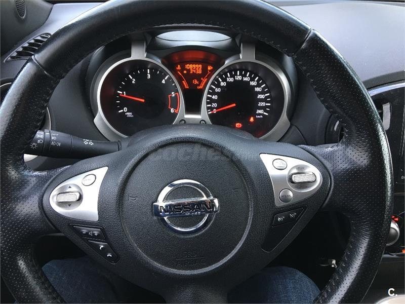 nissan juke 4x4 1 5 dci tekna sport 4x2 diesel de color blanco del a o 2012 con 108000km en. Black Bedroom Furniture Sets. Home Design Ideas