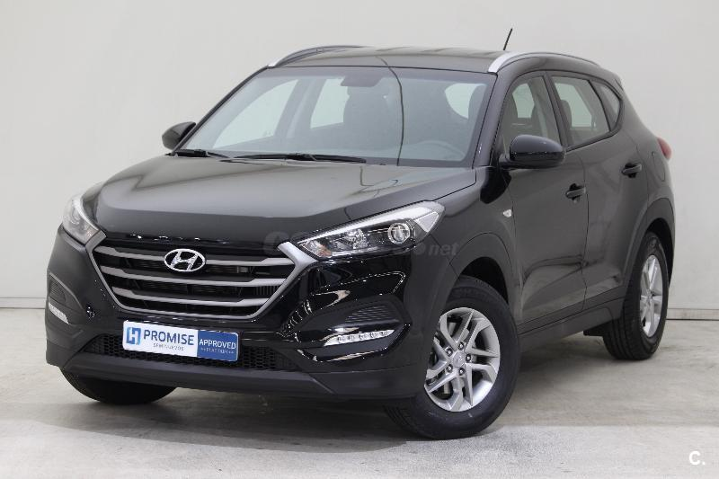 hyundai tucson 4x4 1 7 crdi 115cv bluedrive essence 4x2 diesel de color negro del a o 2016 con. Black Bedroom Furniture Sets. Home Design Ideas