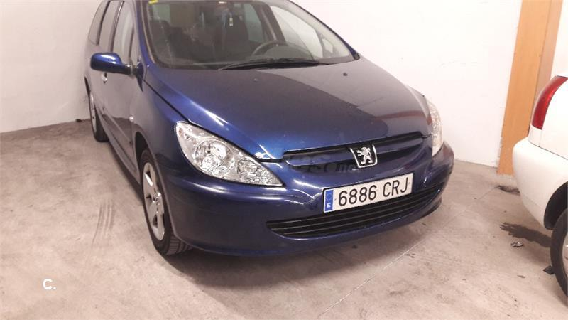 peugeot 307 sw 2 0 hdi 110 diesel azul del 2004 con 220000km en alicante 32800231. Black Bedroom Furniture Sets. Home Design Ideas