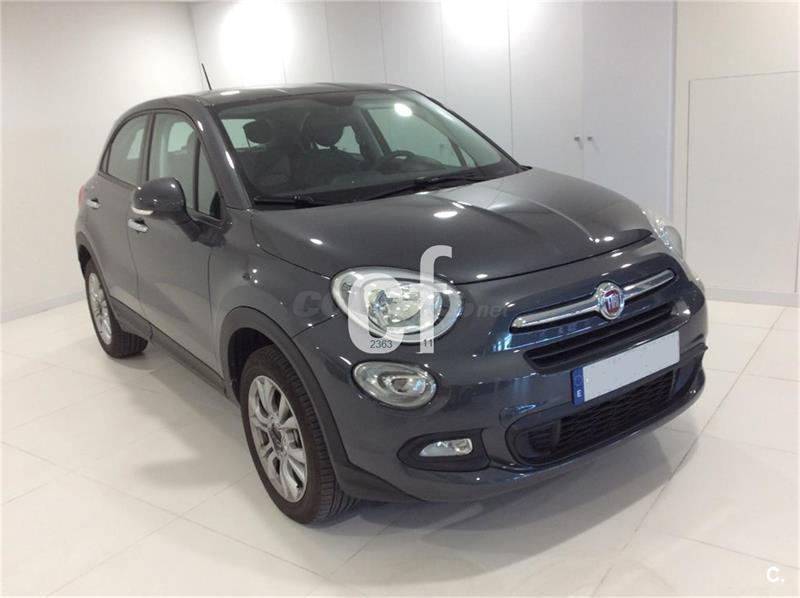 fiat 500x 4x4 pop star 1 6 etorq 110cv 4x2 gasolina de color gris plata gris moda del a o. Black Bedroom Furniture Sets. Home Design Ideas