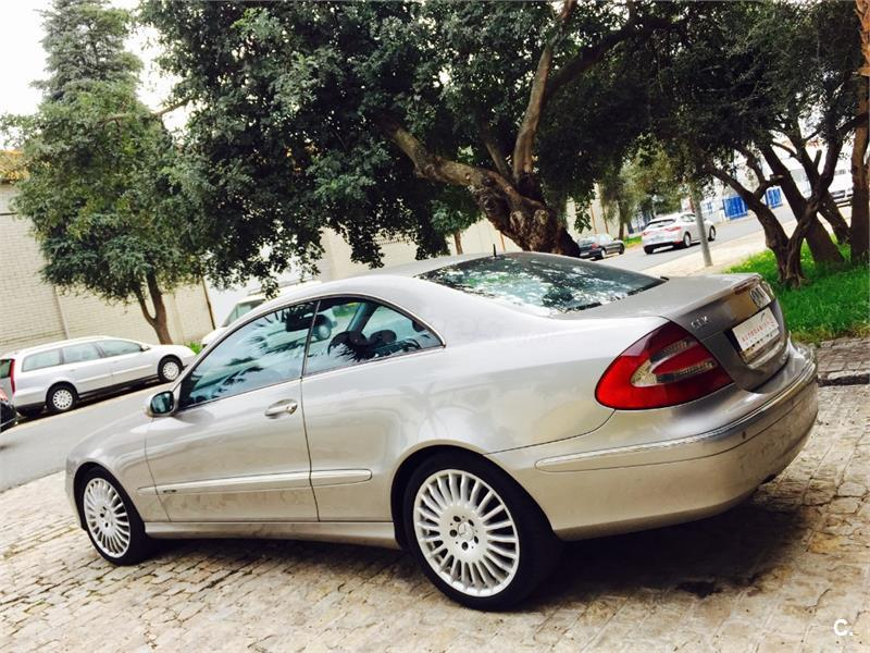 mercedes benz clase clk clk 270 cdi avantgarde diesel beige del 2005 con 289000km en sevilla. Black Bedroom Furniture Sets. Home Design Ideas