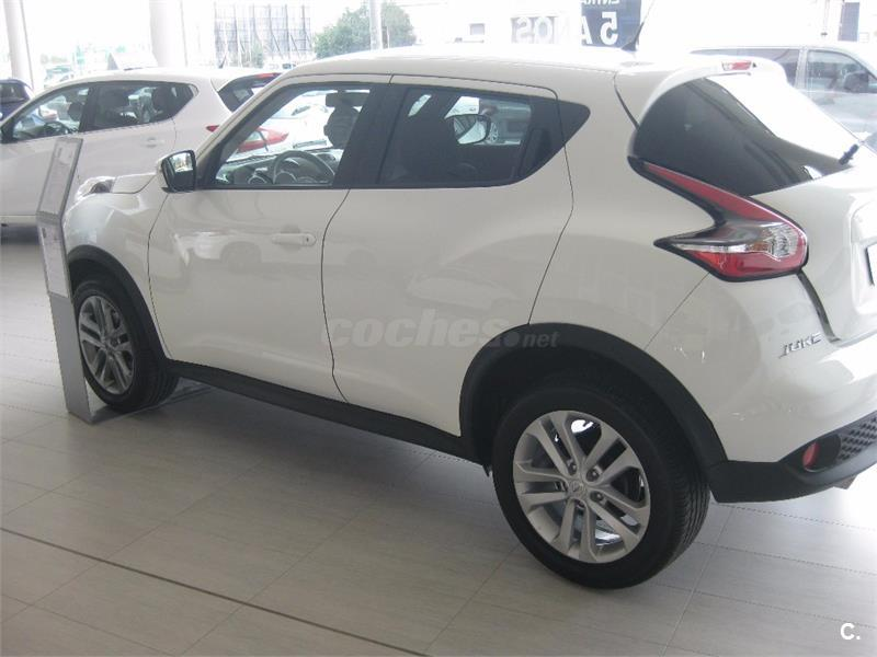 nissan juke 4x4 1 5 dci nconnecta diesel de color blanco. Black Bedroom Furniture Sets. Home Design Ideas