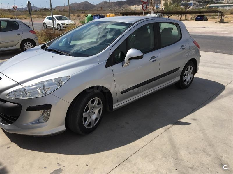 peugeot 308 confort 1 6 hdi 90 diesel gris plata del 2010 con 200000km en murcia 32811970. Black Bedroom Furniture Sets. Home Design Ideas