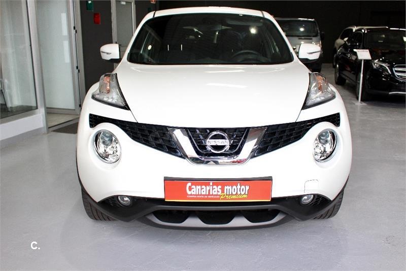nissan juke 4x4 1 5 dci acenta 4x2 diesel de color blanco del a o 2016 con 6266km en las palmas. Black Bedroom Furniture Sets. Home Design Ideas