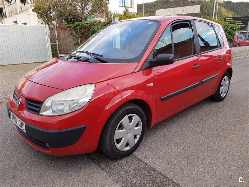 renault scenic confort expression diesel rojo del 2004 con 76000km en girona 32814724. Black Bedroom Furniture Sets. Home Design Ideas