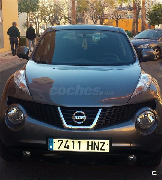 nissan juke 4x4 1 5 dci ss tekna premium 4x2 diesel de color gris plata del a o 2013 con. Black Bedroom Furniture Sets. Home Design Ideas
