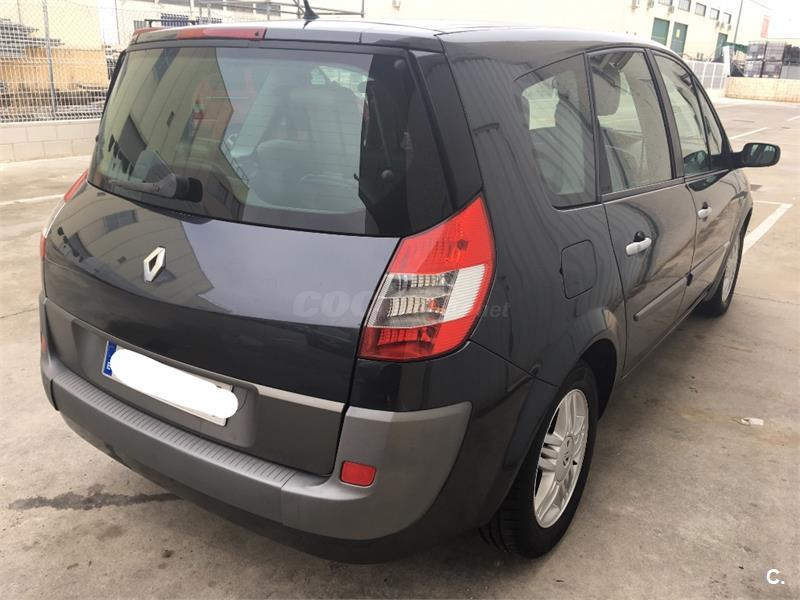 renault grand scenic luxe privilege diesel gris plata del 2005 con 179000km en madrid. Black Bedroom Furniture Sets. Home Design Ideas
