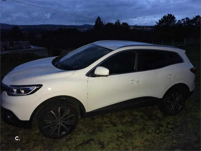 Renault kadjar zen energy dci 130 diesel blanco del 2016 for 5 puertas pontevedra
