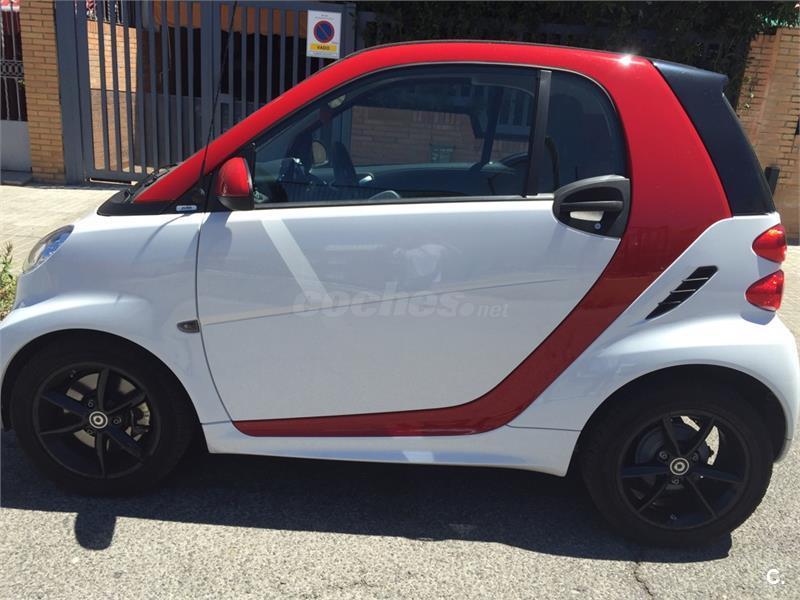 Smart fortwo coupe 45 mhd pure gasolina blanco del 2014 for Smart segunda mano sevilla