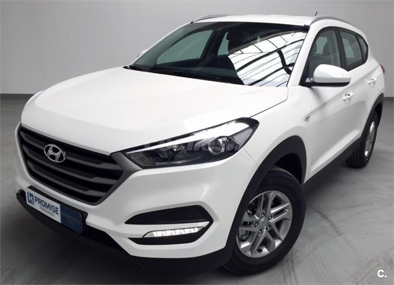 hyundai tucson 4x4 1 6 gdi bluedrive essence 4x2 gasolina de km0 de color blanco en tarragona. Black Bedroom Furniture Sets. Home Design Ideas