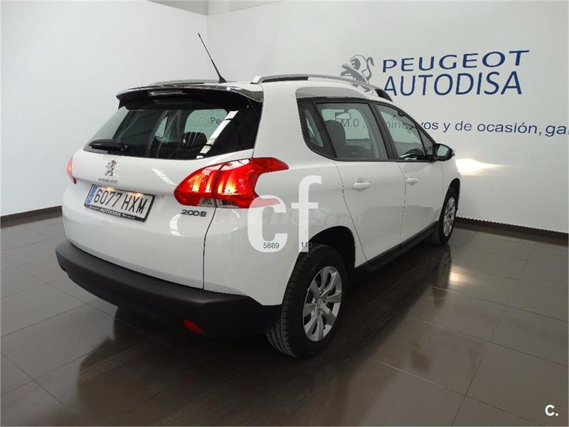 peugeot 2008 4x4 access 1 2 vti 82 gasolina de color blanco blanco del a o 2014 con 17459km en. Black Bedroom Furniture Sets. Home Design Ideas