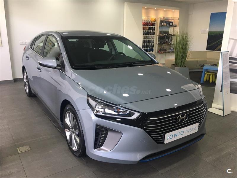 Hyundai Ioniq Berlina 1 6 Gdi Hev Tecno Dct El 233 Ctrico