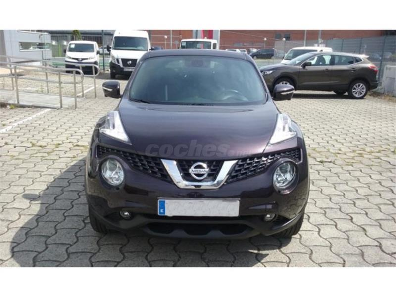 nissan juke 4x4 1 5 dci tekna 4x2 diesel de color negro. Black Bedroom Furniture Sets. Home Design Ideas