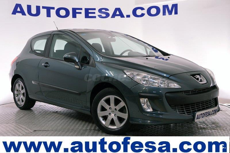 peugeot 308 sport 2 0 hdi 136 fap diesel verde del 2007 con 141500km en madrid 32841032. Black Bedroom Furniture Sets. Home Design Ideas