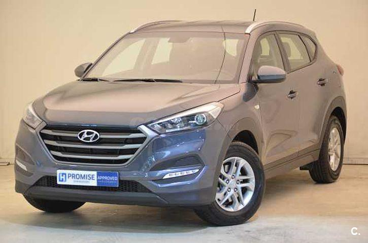 hyundai tucson 4x4 1 6 gdi bluedrive essence 4x2 gasolina de km0 de color gris plata en. Black Bedroom Furniture Sets. Home Design Ideas